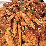 recette Emincés de poulet au sésame
