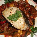 recette Pavé de thon sur lit de ratatouille