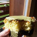 recette Cake citron et thé matcha