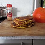recette Pancakes a la cannelle et a la citrouille!