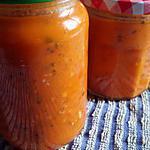 recette Coulis de tomates à la provençale au thermomix