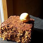 recette Entremet chocolat , crémeux citron et fleur de sel