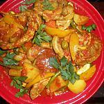 recette Tajine de veau au légumes