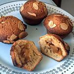recette MUFFINS AMANDINE AUX POMMES-CANNELLE