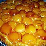 recette Tatin d'abricots à la lavande