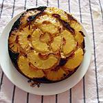 recette gâteau au yaourt renversé à l'ananas