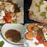 recette SALADE DE LENTILLES A LA MEDITERRANEENNE