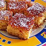 recette bessboussa (gateau semoule)