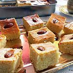 recette Gâteau de semoule aux amandes