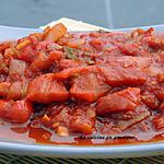 recette Salade marocaine chaudes aux poivrons et tomates