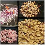 recette Escalope de dinde émincée au curry et lait de coco