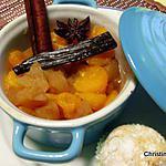 recette Mini-cocotte de fruits aux épices