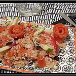 recette Salade de Quinoa à la truite et Granny Smith