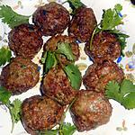 recette Boulettes de boeuf au coriandre
