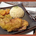 recette Poulet au Colombo