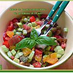 recette Salade de tomates et concombre