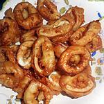 recette Beignets de calamars