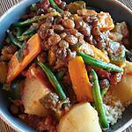 recette Couscous végétarien , recette gardée. .