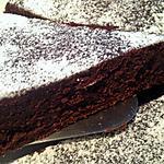 recette Fondant au chocolat noir
