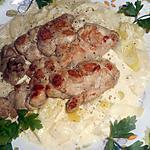 recette Ris de veau aux poireaux