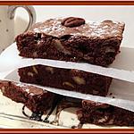recette Brownies aux Pistaches et aux noix de Pécan