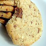 recette Peanuts Cookies (Beurre de Cacahuètes & Cacahuètes Hachées)