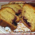 recette Cake Coco et confiture de griotte