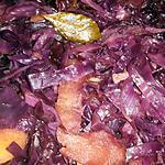 recette Choux rouge pommes et lardons , recette polonaise
