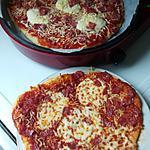 recette Pizza simple au salami