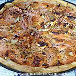 recette Tarte aux tomates et fromage de chèvre
