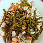 recette Salade haricots verts en mode je fais gaffe le soir