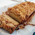 recette Crumb cake pomme/amande