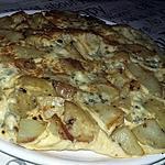 recette Tortilla au bleue