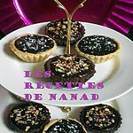recette Tartelettes choco-coco & choco-confiture de fraises