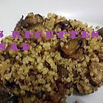 recette Quinoa au curcuma-cumin et aubergine