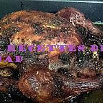 recette Mon poulet rôti aux épices
