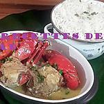 recette Crabe au coco
