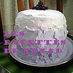 recette Layer cake aux myrtilles