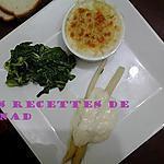 recette Gratin de crabe