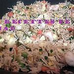 recette Riz frit aux fruits de mer