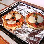 recette Ma pizza à la pâte de nâan
