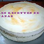 recette Entremet ananas-chocolat blanc