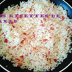 recette Riz sauté au poivron rouge