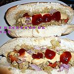 recette Mes hot dogs