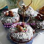 recette Cupcakes de Pâques(choco-coeur coco)