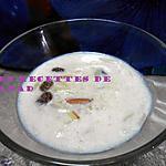 recette Doul piti (pâtes langue d'oiseau au lait)