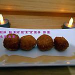 recette Boulettes de crevettes panées