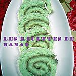 recette Biscuit roulé coco-fraise