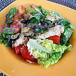 recette Salade au poulet KFC épicé
