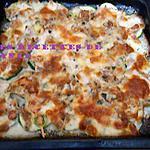 recette Courgette et thon gratinés